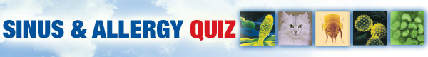 Sinus & Allergy Quiz
