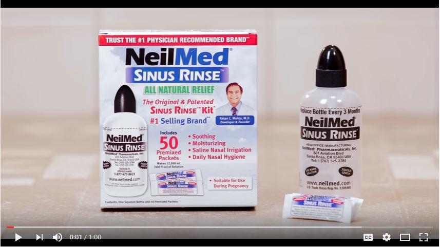 NeilMed Pharmaceuticals - Directions for use Videos