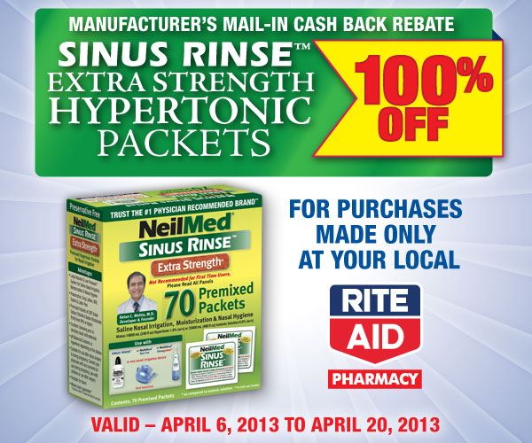 100% MAIL IN REBATE ON HYPERTONIC PACKETS