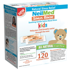 Sinus Rinse Pediatric Packets