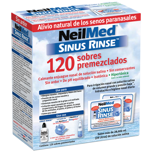 SinuRinse 120 Premixed Packets